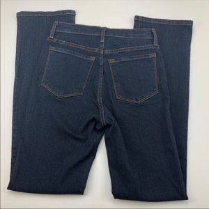 NYDJ Dark Wash Figure Flattering Straight Leg Jean